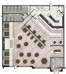 interior remarkable restaurant floor plan with bar interiors