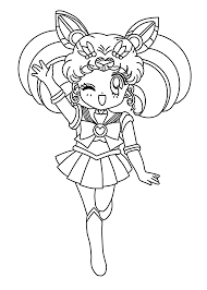 sailor saturn cute sailor moon coloring pages pinterest