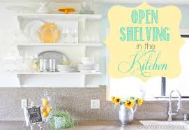 The Kitchen Open Table by Open Shelving In The Kitchen Hometalk