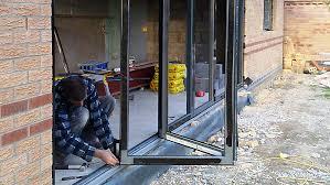 How To Install A Sliding Patio Door Adding A Sliding Glass Door Womenofpower Info