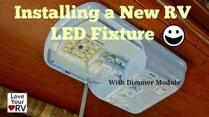 Rv Light Fixture Installing A Starlights Rv Led L Fixture