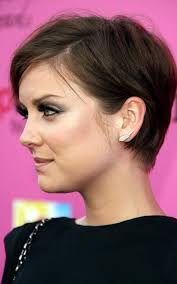 image result for short hair tucked behind ears hairstyle