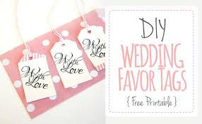 Labels For Wedding Favors Free Templates labels for wedding favors free templates thank you tag printable
