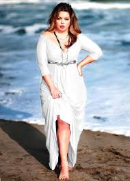 long white plus size dress plus size dresses pinterest