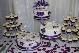 Have Purple Butterfly Wedding Cake Craftsy Diy Wedding U2022 19710