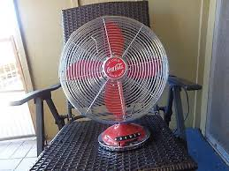 Oscillating Desk Fan by Retro Style Coca Cola All Metal 12