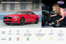 toddler mustang car 2016 ford mustang car seat check cars com