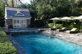 Traditional Outdoor Furniture by Full Range Connecticut Bluestone Steps Pool Traditional With Patio