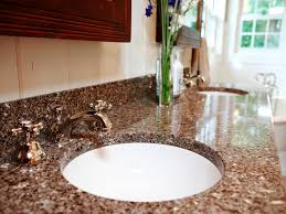 Bathroom Counter Top Ideas Granite Bathroom Countertops Ideas Home Inspirations Design