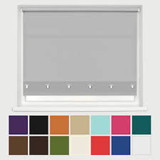 Blinds Up Square Eyelet Edge Roller Blinds Up To 8ft Width Trimable Ebay