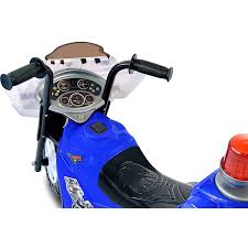 motorcycle ride on toy police cop bike kids toddler outdoor toys