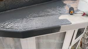 how to fibreglass a roof how to fibreglass a bay roof diy youtube