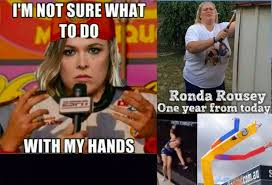 Bas Rutten Meme - brutal ronda rousey memes after loss to amanda nunes