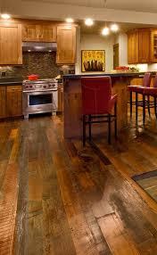 Wooden Kitchen Flooring Ideas Best 20 Rustic Wood Floors Ideas On Pinterest Rustic Hardwood