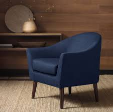 Contemporary Accent Chair Impressive On Navy Blue Accent Chair Grayson Navy Accent Chair