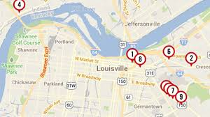 Louisville Map 9 Restaurants With Gluten Free Dishes That Don U0027t Like Gluten