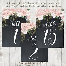 wedding table number fonts 19 best printable table numbers images on pinterest wedding table
