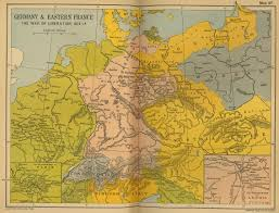 Map Of Germany And Poland by Historical Maps Of France