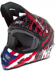 womens motocross helmets oneal blue red white 2018 3series mercury mx helmet oneal