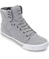 light grey mens shoes supra official men supra skytop light grey navy knit skate shoes