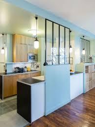 journal des femmes cuisines une verrière dans la cuisine pour une pièce semi ouverte cuisine