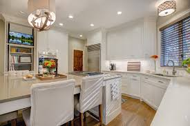 kitchens the heart of the holidays kitchen islands are almost never one size fits all but they often share one common element seating a sprawling island is a perfect solution for keeping