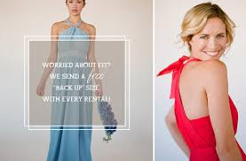 bridesmaid dress rentals rent the bridesmaid dress with borrowed dress