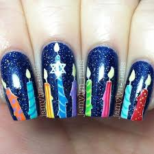 hanukkah nail image result for hanukkah nails holidays