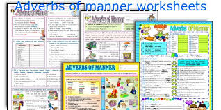 english teaching worksheets adverbs of manner