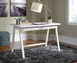 small desks for home office with white color ideas home interior