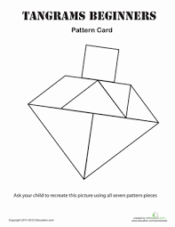 tangram puzzle easy tangrams puzzles education