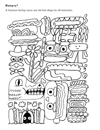 weird free printable coloring book adults