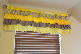 how to sew ruffle valances on a vision to remember a vision to