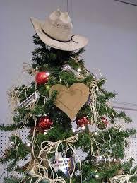 Cowboy Christmas Decorating Ideas Potd Luling U0027s Cowboy Themed Christmas Tree Texastripper Com