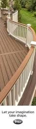 Pinterest Decks by Best 25 Composite Deck Railing Ideas On Pinterest Deck Colors
