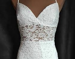 white lace dress etsy