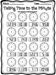free worksheets time worksheets grade 2 math free math