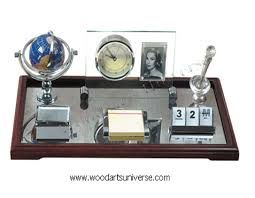Executive Desk Organizer Executive Desk Organizer With Clock And Picture Frame Wascb0077