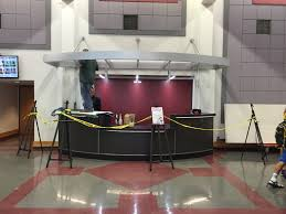 Commercial Reception Desks by Metal Canopy Over Reception Desk Identigraph Signs And Awnings