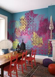 the big colour trends of 2017 you need to know about now painted wall tropical ocean