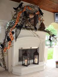 decor for fireplace 23 best ideas for halloween decorations fireplace and mantel
