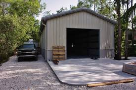 backyard garage metal garages for shops and storage buck steel