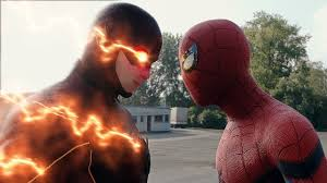 spider man homecoming spider man flash fight scene