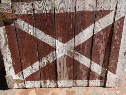 Red Barn Door by Small Half Barn Door Red White X Sarasota Architectural Salvage