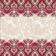ethnic ornament pattern seamless border vector 09 vector