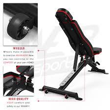 inclineflex 2 incline weight bench