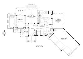 craftsman open floor plans craftsman ranch with open floor plan professional builder house
