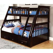 More Bunk Beds Beds With Futons Futon Wood Bunk Bed With Regard To