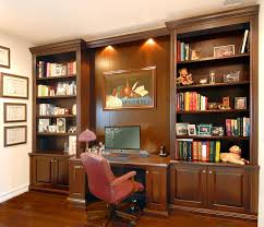 Built In Home Office Designs Wall Units Interesting Bookcase With Built In Desk Built In Desks