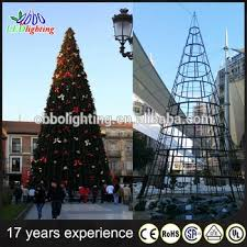 Commercial Outdoor Lighted Christmas Decorations by 2016 New Design Christmas Tree Decoration Lighted Plastic